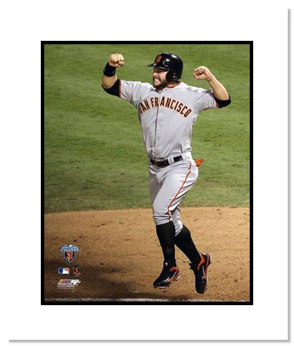 Cody Ross San Francisco Giants Double Matted 8x10 Photograph 2010 World Series Game 5 Home Run