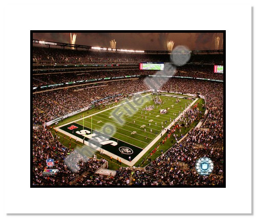 2010 New York Jets Double Matted 8x10 Photograph New Meadowlands Stadium