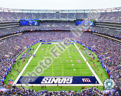 2010 New York Giants 8x10 Photograph New Meadowlands Stadium