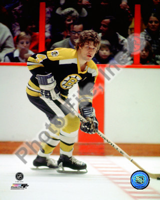 Bobby Orr Boston Bruins NHL 8x10 Photograph Black Jersey