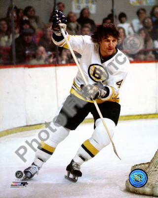 Bobby Orr Boston Bruins NHL 8x10 Photograph White Jersey