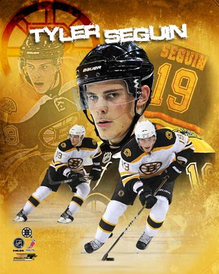 Tyler Seguin Boston Bruins NHL 8x10 Photograph Portrait Plus Collage
