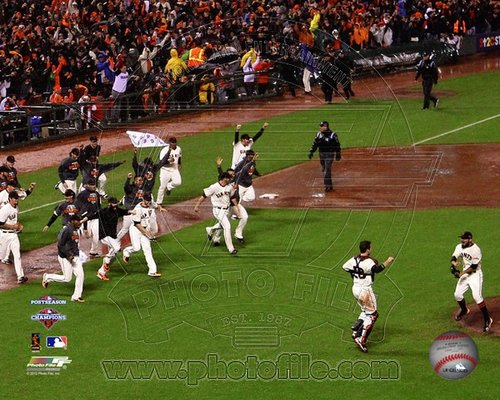 2012 San Francisco Giants MLB 8x10 Photograph NLCS Champions Celebration