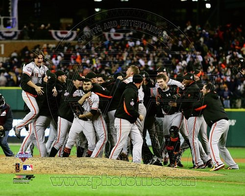 2012 San Francisco Giants MLB 8x10 Photograph 2012 World Series Celebration #1