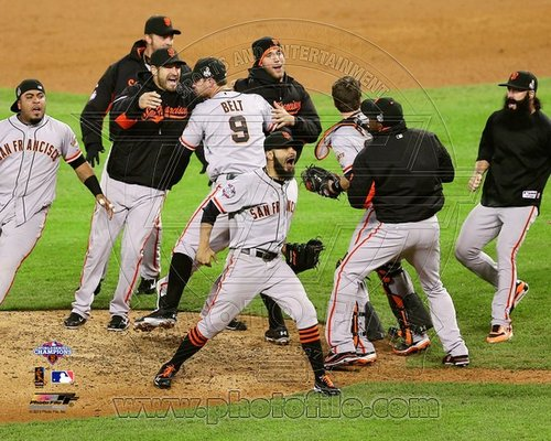 2012 San Francisco Giants MLB 8x10 Photograph 2012 World Series Celebration #2