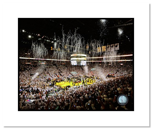 2013 Miami Heat NBA Double Matted 8x10 Photograph 2013 NBA Finals Champs Team Arena