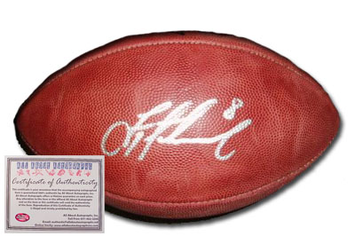 Troy Aikman Dallas Cowboys NFL Hand Signed Football
