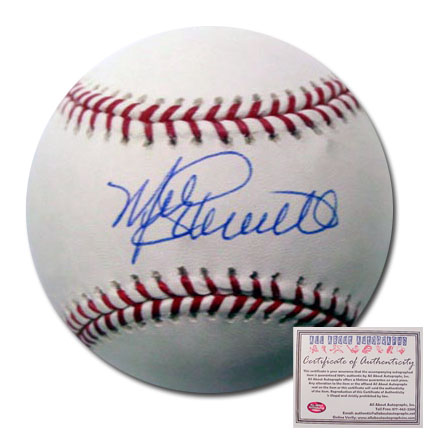 Mike Schmidt Philadelphia Phillies Hand Signed Rawlings MLB Baseball