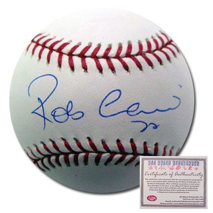 Robinson Cano New York Yankees Hand Signed Rawlings MLB Baseball