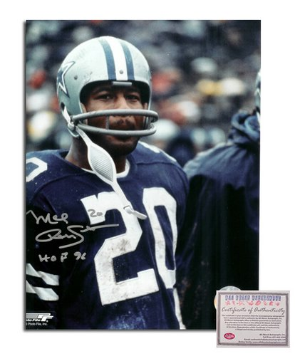 Mel Renfro NFL Dallas Cowboys Hand Signed 8x10 Photograph