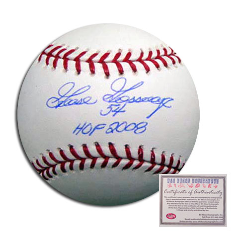 Goose Gossage New York Yankees MLB Hand Signed Rawlings Baseball with HOF 2008 Inscription