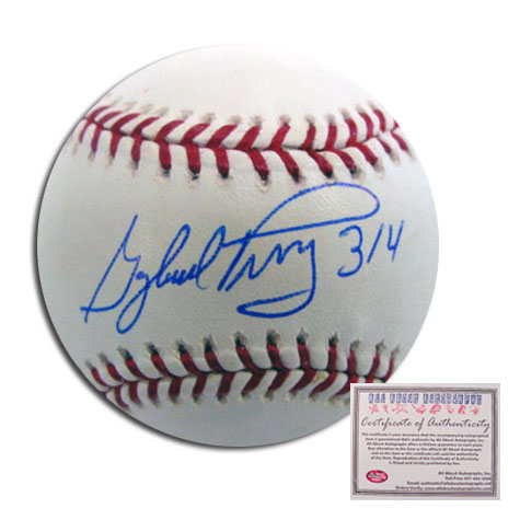Gaylord Perry Seattle Mariners MLB Hand Signed Rawlings MLB Baseball with 314 Inscription