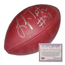 Lofa Tatupu Seattle Seahawks NFL Hand Signed Football