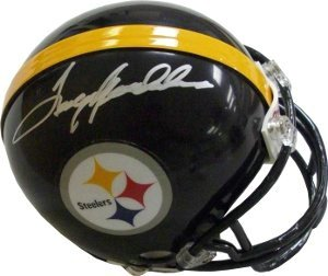 Terry Bradshaw Pittsburgh Steelers NFL Hand Signed Mini Helmet