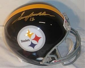 Terry Bradshaw Pittsburgh Steelers NFL Hand Signed Full Size Replica Helmet