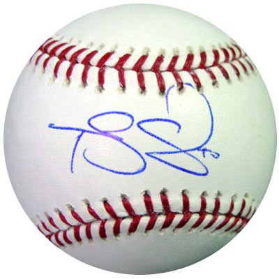 Travis Snider Toronto Blue Jays MLB Hand Signed Baseball