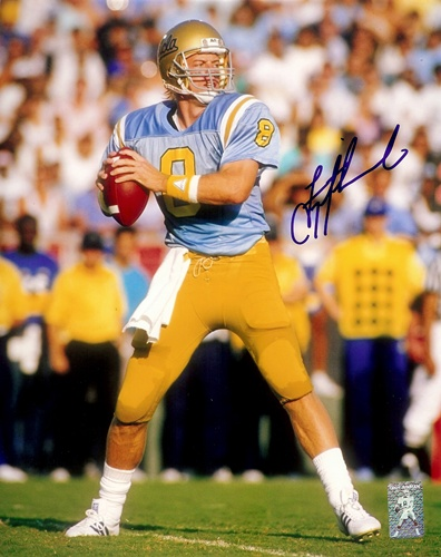 Troy Aikman UCLA Bruins NCAA Hand Signed 8x10 Photograph