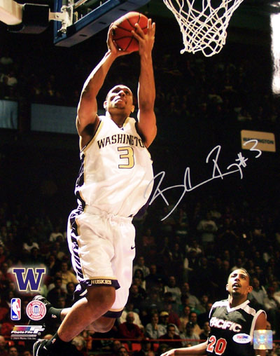 Brandon Roy Washington Huskies NCAA Hand Signed 16x20 Photograph