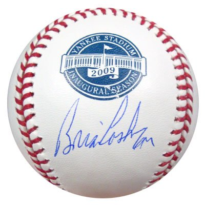 Brian Cashman New York Yankees MLB Hand Signed Official 2009 Yankee Stadium Baseball