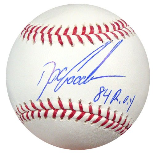 Dwight Gooden New York Mets MLB Hand Signed Official Baseball 84 ROY Inscription