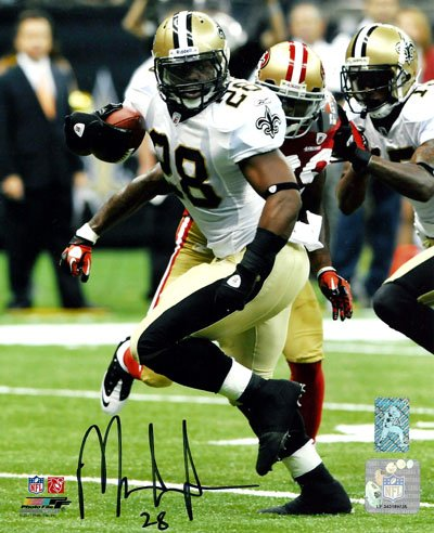 Mark Ingram New Orleans Saints NFL Hand Signed 8x10 Photograph vs 49ers