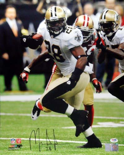 Mark Ingram New Orleans Saints NFL Hand Signed 16x20 Photograph vs 49ers