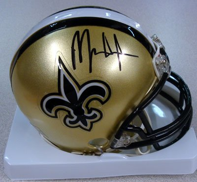 Mark Ingram New Orleans Saints NFL Hand Signed Mini Helmet