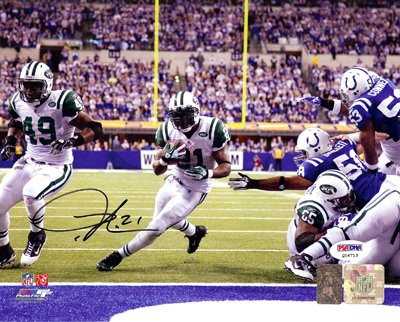 LaDainian Tomlinson San Diego Chargers NFL Hand Signed 16x20 Photograph #3
