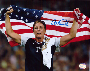 Abby Wambach Team USA Soccer Hand Signed 8x10 Photograph