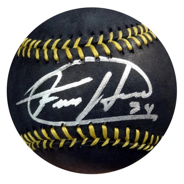 Felix Hernandez Seattle Mariners Hand Signed Rawlings MLB Black Baseball