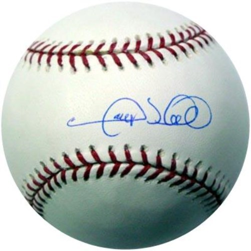 Gary Sheffield New York Yankees Hand Signed Rawlings MLB Baseball