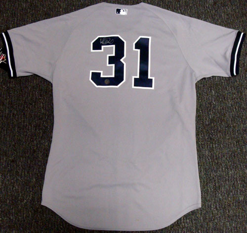 Ichiro Suzuki New York Yankees Hand Signed Authentic Style Gray Jersey