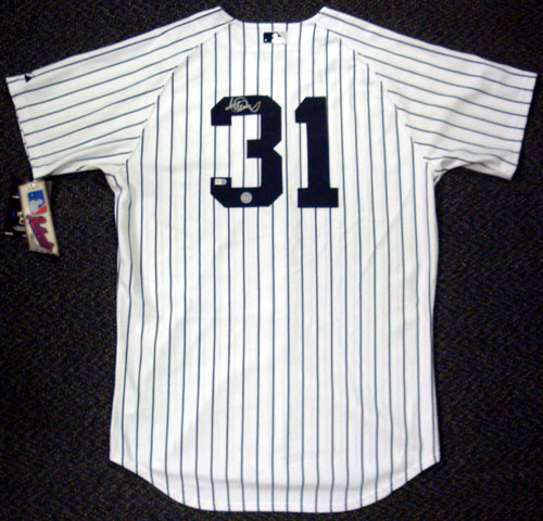 Ichiro Suzuki New York Yankees Hand Signed Authentic Style White Jersey